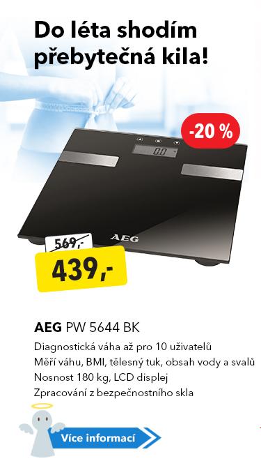 Diagnostická váha AEG PW 5644 BK