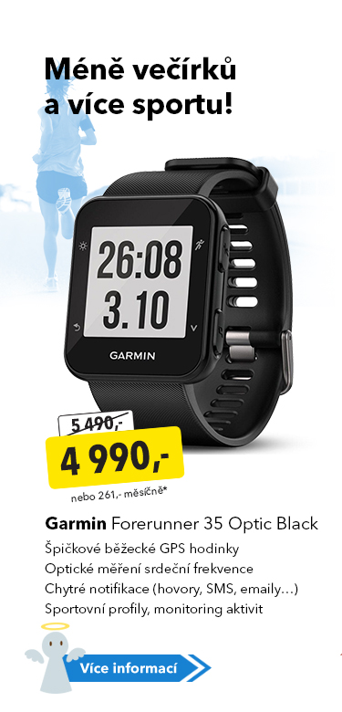 GPS hodinky Garmin Forerunner 35 Optic