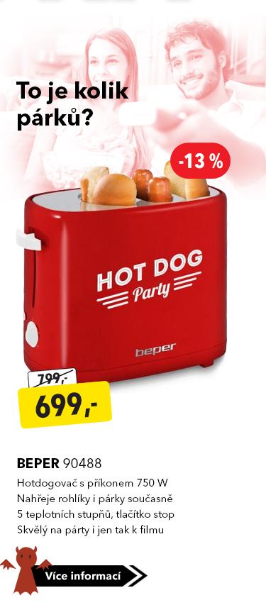 Hotdogovač Beper 90488