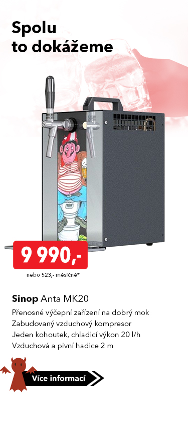 Výčepní zařízení Sinop Anta MK20