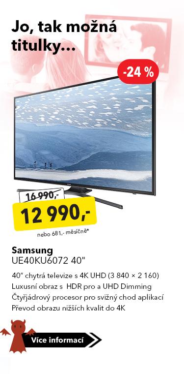 TV Samsung UE40KU6072