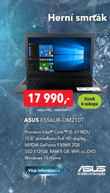Notebook Asus F556UR-DM210T