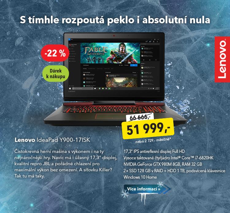 Notebook Lenovo IdeaPad Y900-17ISK
