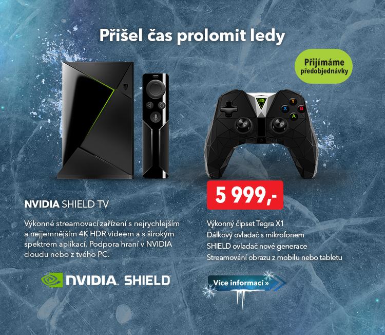 Steamovací zařízení Nvidia Shield TV