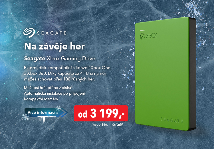 Externí disk Seagate Xbox Gaming Drive