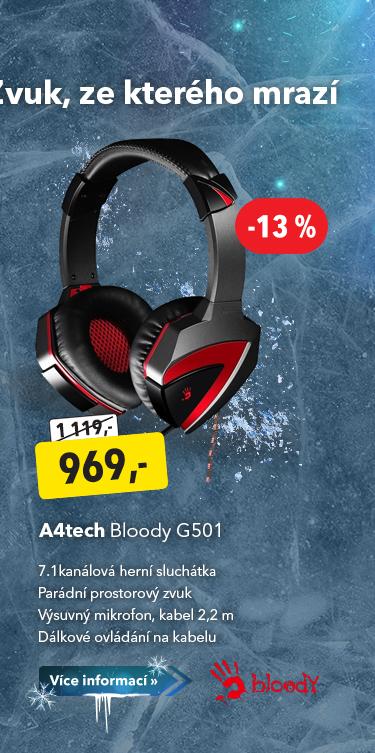 Sluchátka A4tech Bloody G501