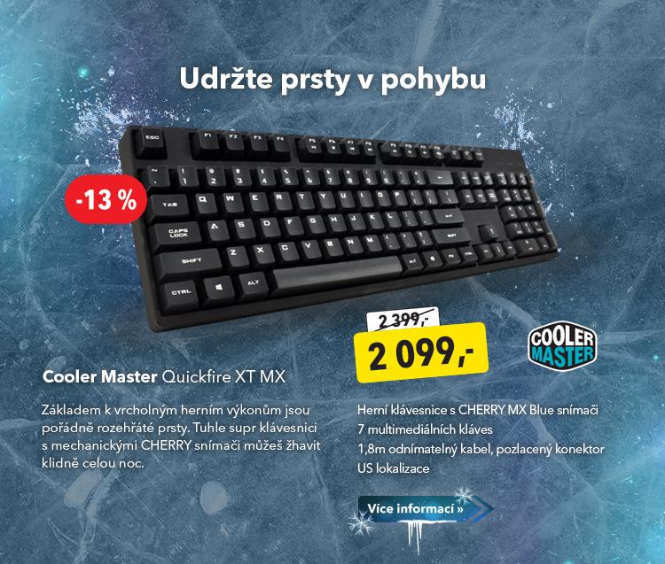 Klávesnice Cooler Master Quickfire XT MX