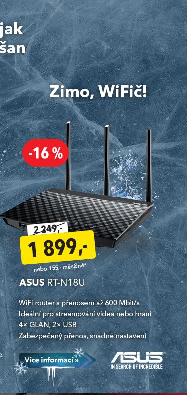 WiFi router Asus RT-N18U