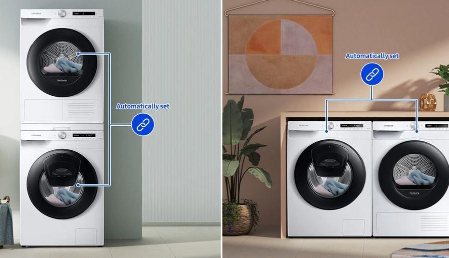 Súpravy práčka a sušička Samsung