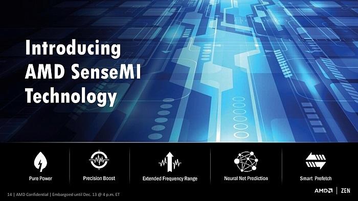 AMD Ryzen; SenseMI