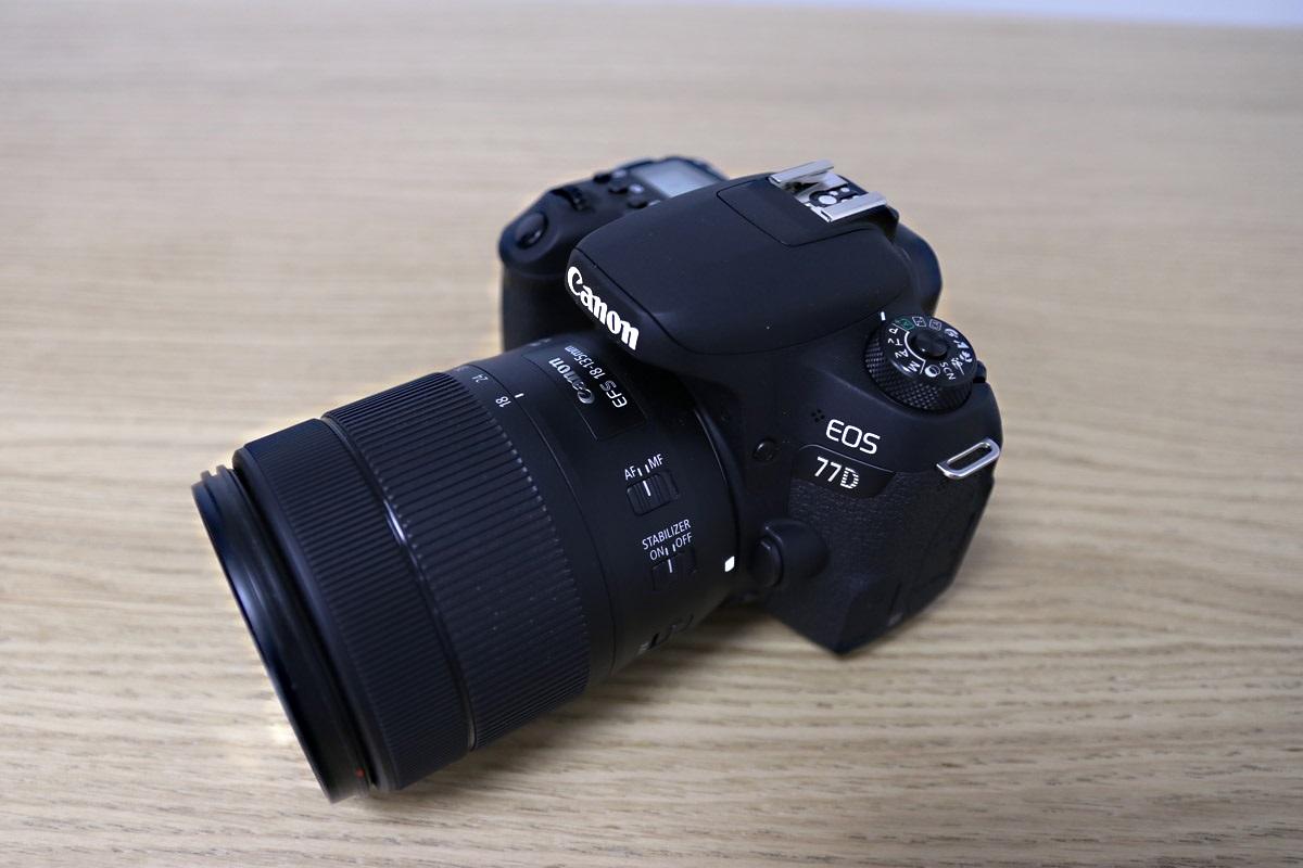 Canon EOS 77D zrcadlovka