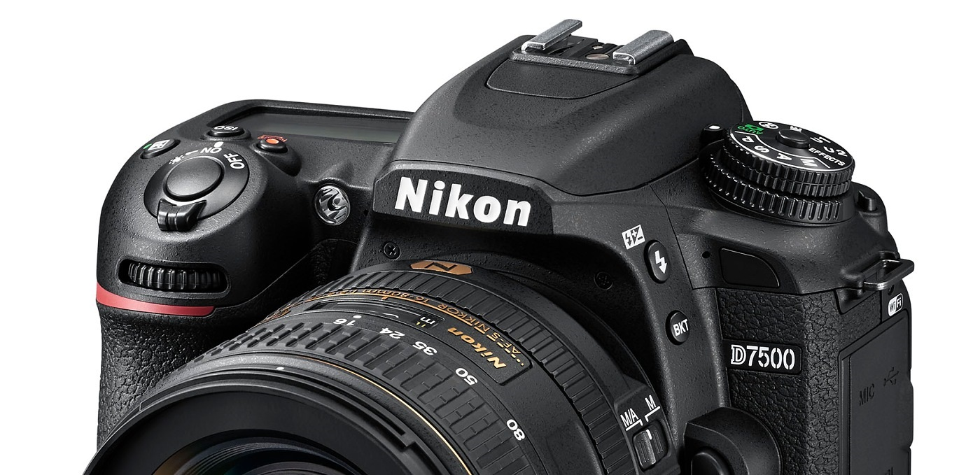 Nikon d7500 zrcadlovka digitální foťák