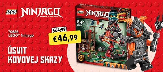 LEGO Ninjago 70626 Úsvit kovové skazy