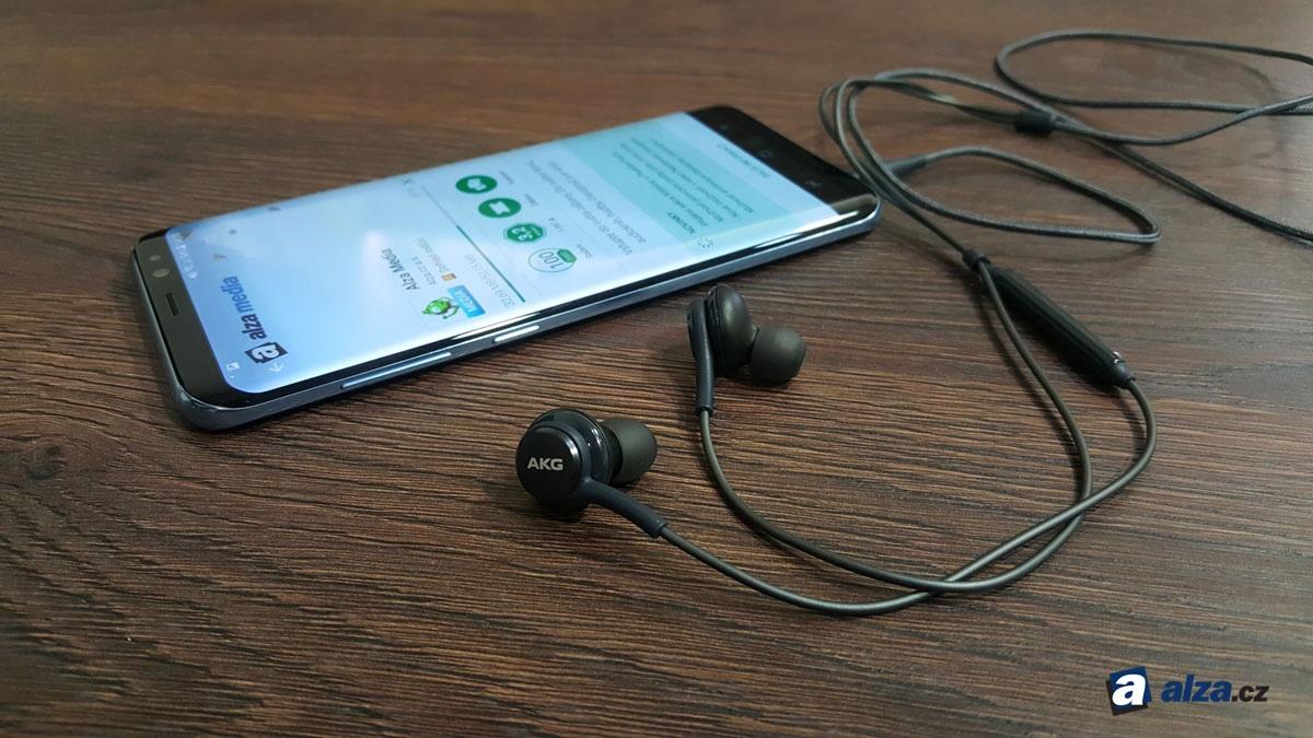 Samsung Galaxy S8 a S8+, slúchadlá AKG