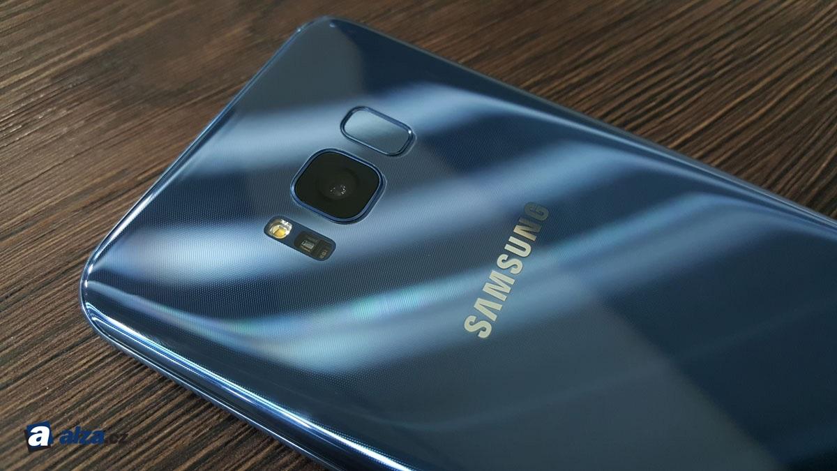 Samsung Galaxy S8, modul fotoaparátu