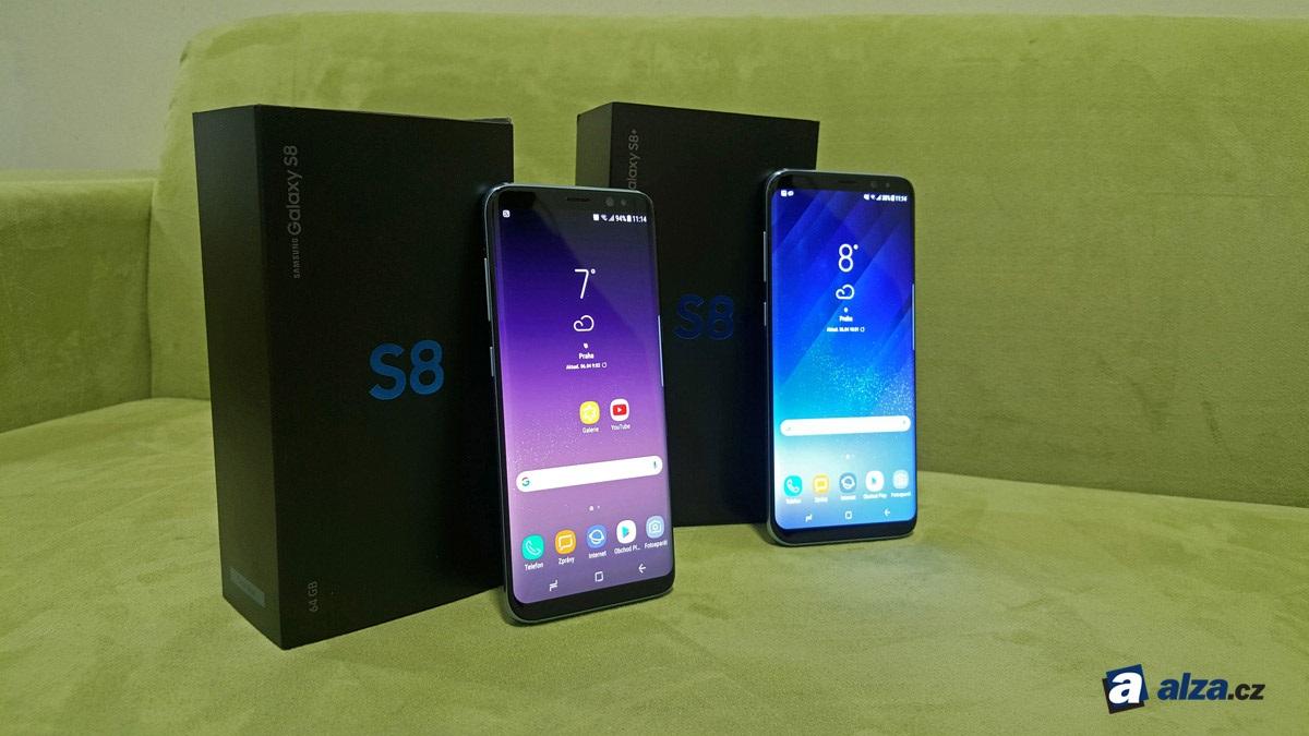 Samsung Galaxy S8 a S8+, balenie