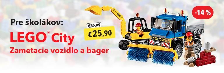 LEGO City 60152 Zametacie vozidlo a bager