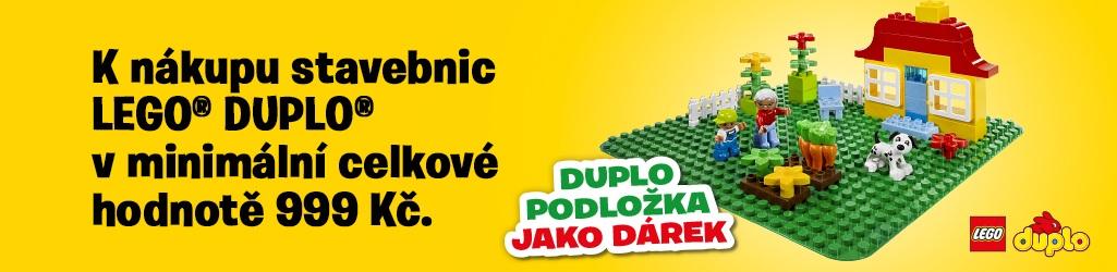 Lego Duplo podložka k nakupu zdarma