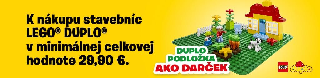 Lego Duplo podložka ako darček