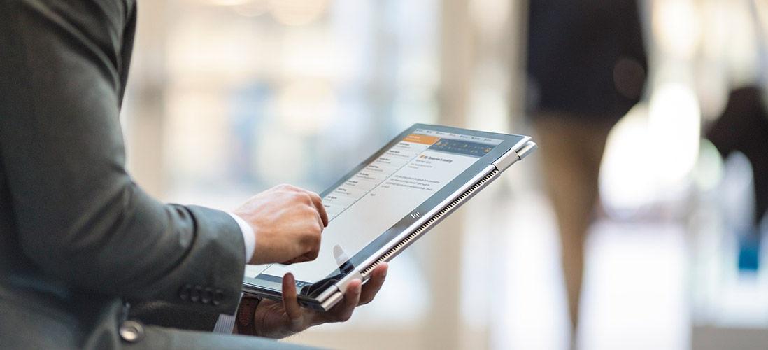 HP EliteBook; zariadenie typu 2 v 1; pracovný ultrabook