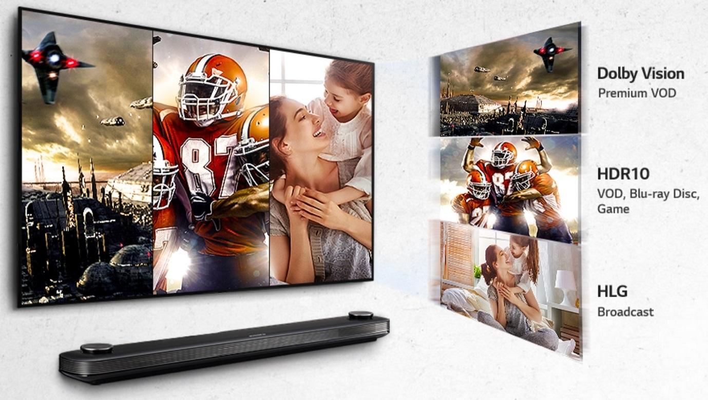 LG 77W7; OLED TV