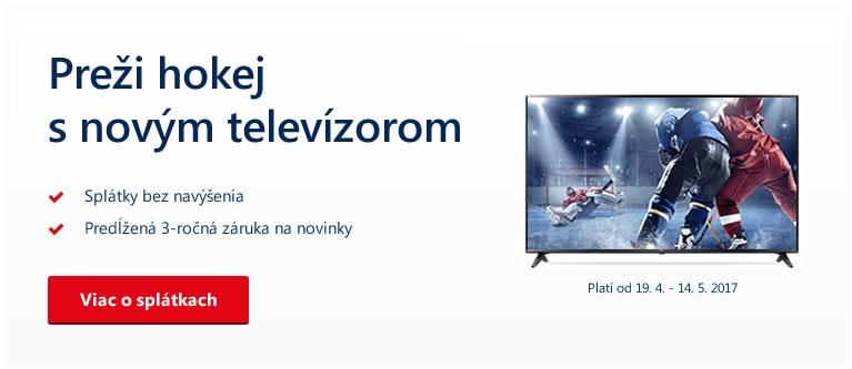 Preži majstrovstvá s novým televízorom