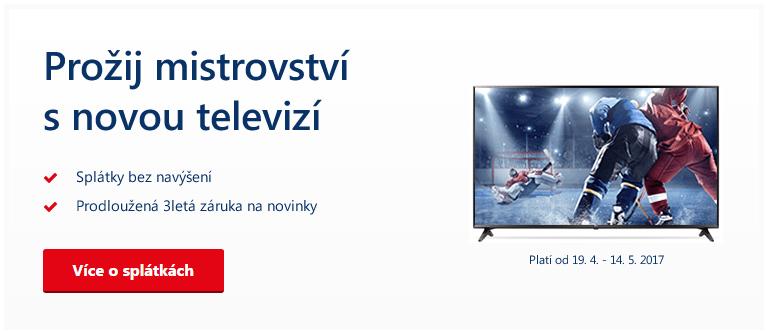 Prožij mistrovství s novou televizí