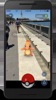 PokémonGO aplikace