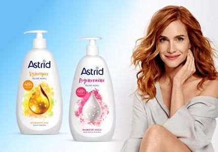 Péče o tělo Astrid