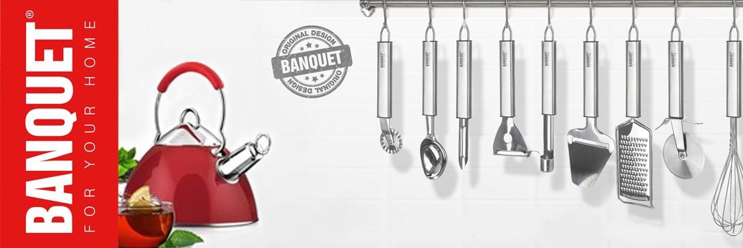 Banquet - vybavení kuchyně a jídelny