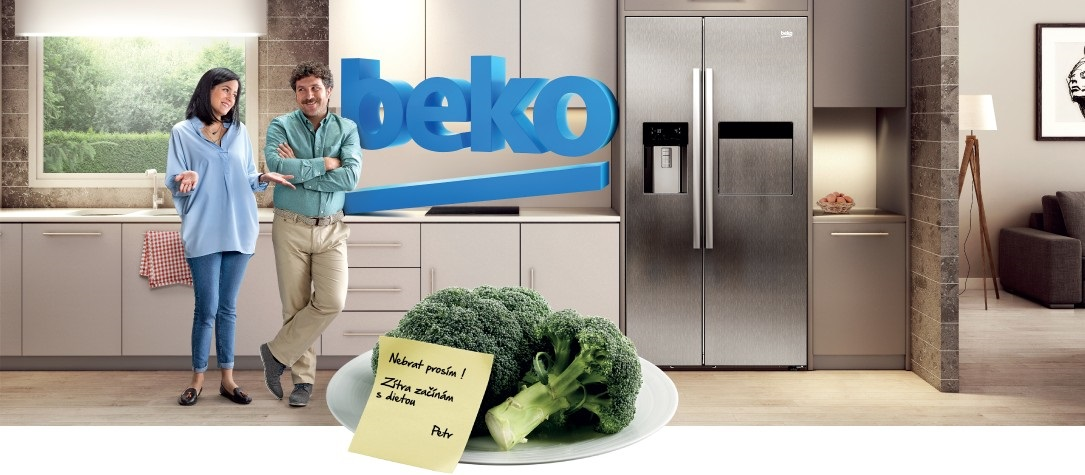 American fridge Beko