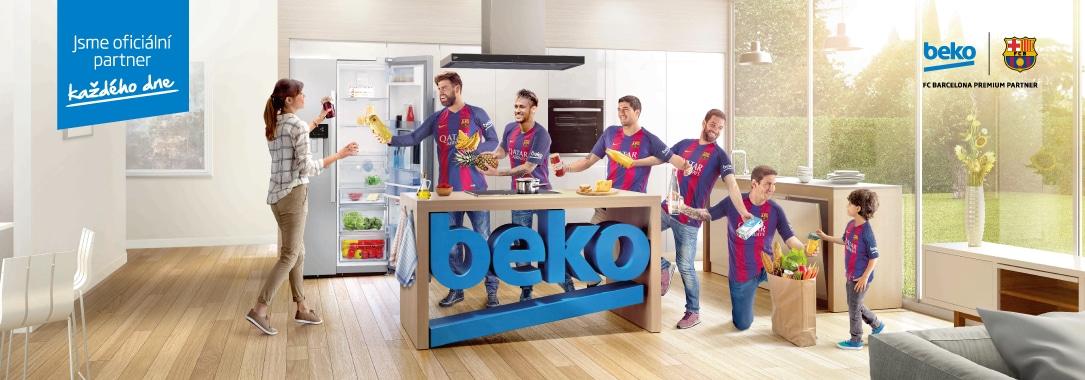 Beko - oficiální partner každého dne