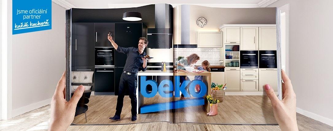Beko - oficiální partner každé kuchyně