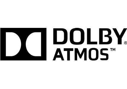 Logo technologie Dolby Atmos