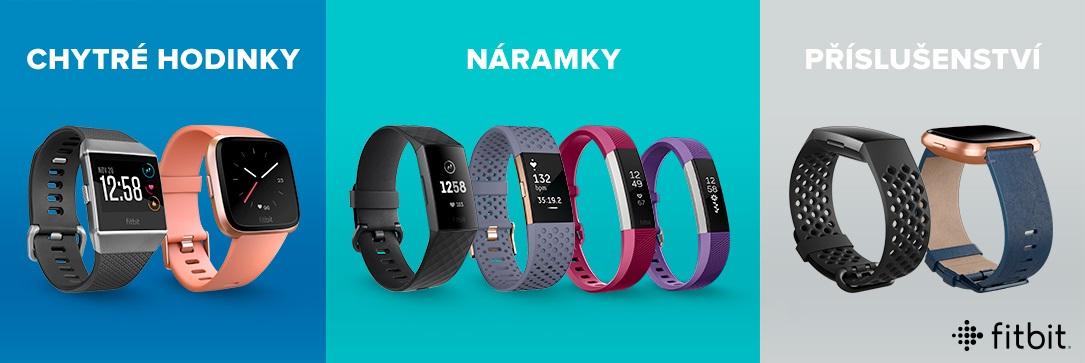Fitness nárameky Fitbit