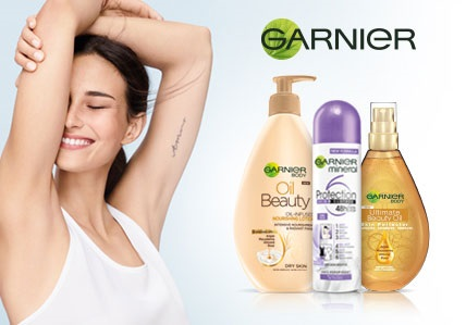 Garnier tělová kosmetika