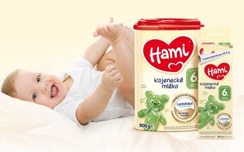 Kojenecká mléka Hami