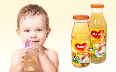 Nápoje pro děti Hami