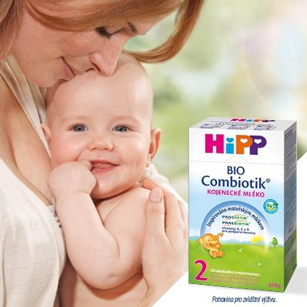 Kojenecké mléko HiPP