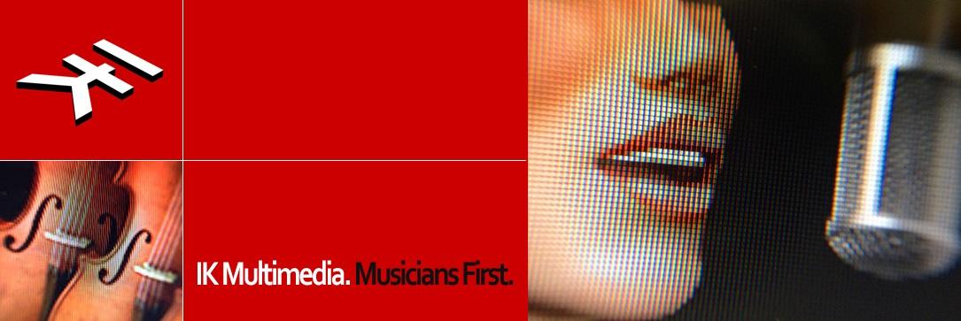 IK Multimedia banner