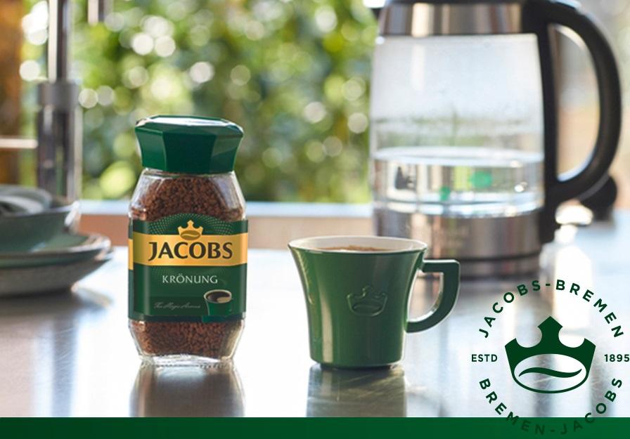 Instantní káva Jacobs