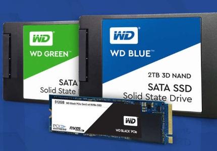 Interní SSD disky WD