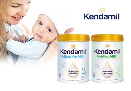 Dojčenské mlieka Kendamil