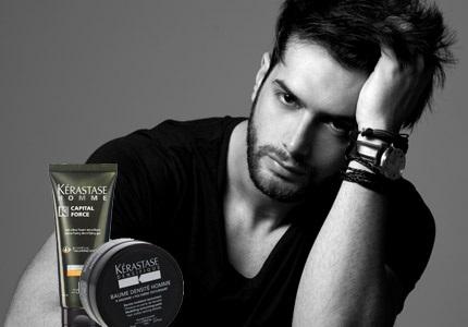 Vlasová kosmetika Kérastase pro muže
