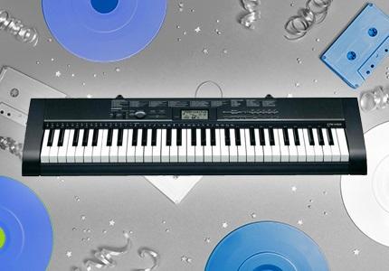 Klávesové nástroje Casio