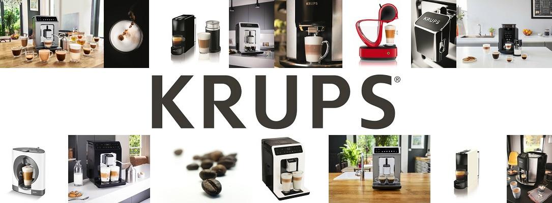 Krups-Kaffeemaschine - Fahne