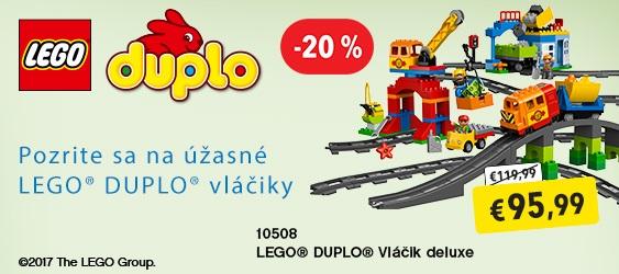 LEGO Duplo vláčik