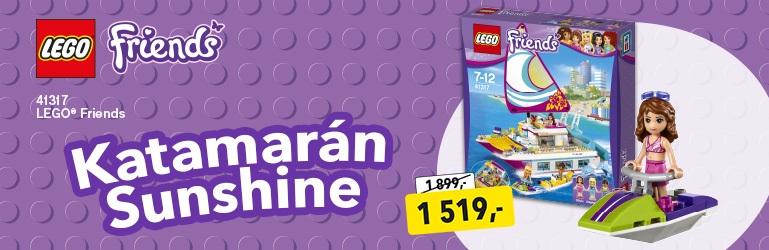 LEGO Friends Katamarán Sunshine