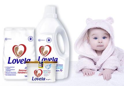 Prací prostředky Lovela