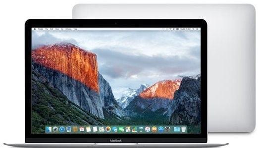 MacBook stříbrný